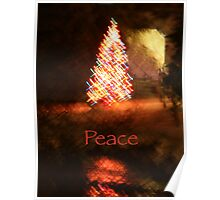 Christmas Impressions - Peace Poster