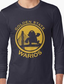 GOLDEN STATE WARIOS Long Sleeve T-Shirt