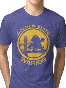 GOLDEN STATE WARIOS Tri-blend T-Shirt