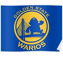 GOLDEN STATE WARIOS Poster