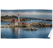 Fisgard Lighthouse, Victoria, BC Poster