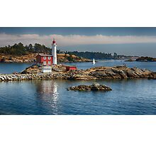 Fisgard Lighthouse, Victoria, BC Photographic Print