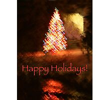 Christmas Impressions - Happy Holidays! Photographic Print
