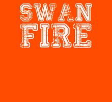 One Upon a Time - Swan Fire Womens Fitted T-Shirt