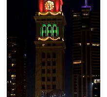 The Clock Tower at Christmas - Denver, Colorado by pjphoto181