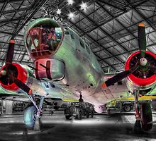 Boeing B17G Fortress - Hendon - HDR by Colin J Williams Photography
