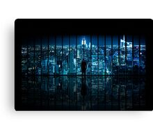 Window to Gotham City Canvas Print