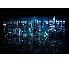 Window to Gotham City Photographic Print