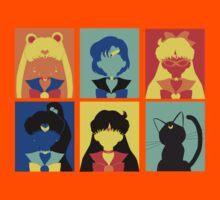 Sailor Moon Pop Art Kids Clothes