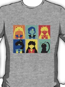 Sailor Moon Pop Art T-Shirt