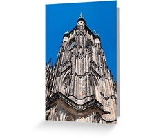 Saint Vitus Cathedral. Greeting Card