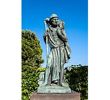 Statue of the Good Sheperd. Photographic Print