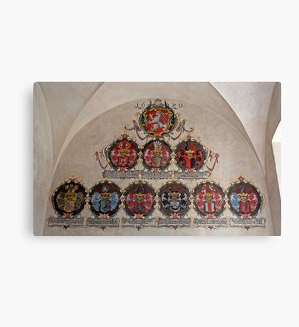 Coats of arms. Canvas Print