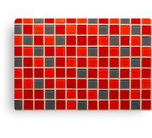 Ceramic tile. Canvas Print