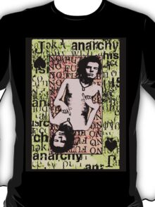 Sid Vicious. The Jack Of Spades. T-Shirt