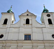Church of the Holy Cross in Rzeszów, Poland. by FER737NG