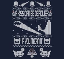 Batman Returns - Ugly Christmas Jumper by maclac