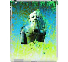 Egyptian display of green iPad Case/Skin