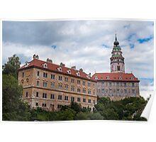 Cesky Krumlov castle. Poster