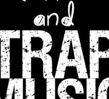 KITTENS COFFEE & TRAP MUSIC Sticker