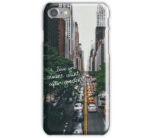 taylor swift quote iPhone Case/Skin