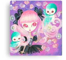 Magical Owls Canvas Print