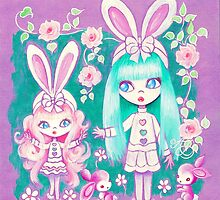 Bunny Girl Sisters by TenshiNoYume