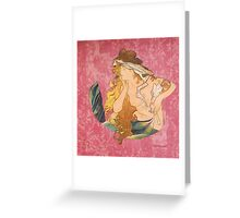 Melusine Paint Greeting Card