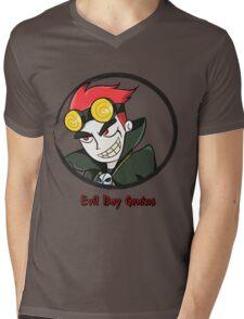 Jack Spicer Evil Boy Genius Mens V-Neck T-Shirt