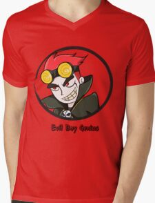 Jack Spicer Evil Boy Genius Mens V-Neck T-Shirt