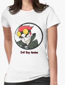 Jack Spicer Evil Boy Genius Womens Fitted T-Shirt