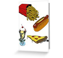 Love Food Greeting Card