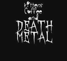 KITTENS COFFEE DEATH METAL Unisex T-Shirt