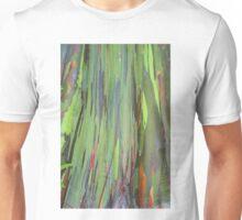 Striped tree trunk Unisex T-Shirt