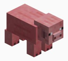 PINK PIG by Chillee Wilson from Customize My Minifig by ChilleeW