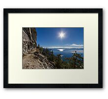 The Perfect Journey - Flume Trail Framed Print