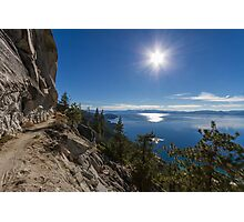 The Perfect Journey - Flume Trail Photographic Print