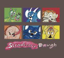 Strawberry Dough Cast T-Shirt (Kids) One Piece - Short Sleeve