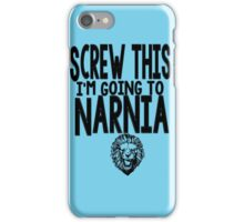 Narnia Quotes iPhone Case/Skin
