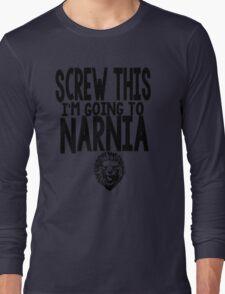Narnia Quotes Long Sleeve T-Shirt