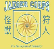 Jaeger Corps One Piece - Short Sleeve
