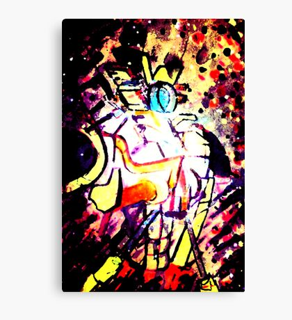 others running Canvas Print