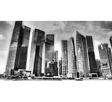 Singapore  Urban Landscape  Photographic Print