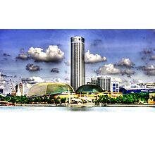 Singapore  Urban Landscape , Esplanade Theater  Photographic Print
