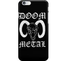 Doom Metal iPhone Case/Skin
