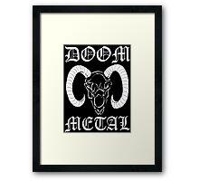 Doom Metal Framed Print