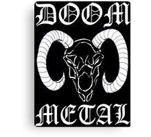 Doom Metal Canvas Print