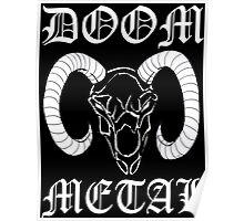 Doom Metal Poster