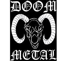 Doom Metal Photographic Print