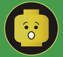 MINIFIG SHOCKED FACE by Chillee Wilson from Customize My Minifig by ChilleeW